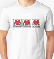 Keith Haring Heart/GDragon tattoo Unisex T-Shirt