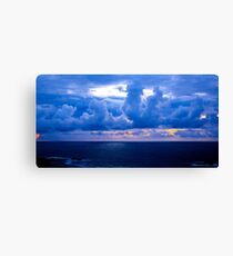 Rolling Clouds  - Glencolmcille, Ireland Canvas Print