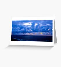 Rolling Clouds  - Glencolmcille, Ireland Greeting Card