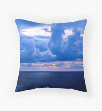 Rolling Clouds  - Glencolmcille, Ireland Throw Pillow