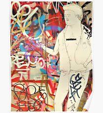 Melbourne Graffiti Poster