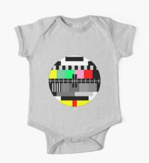 Retro color tv test screen Kids Clothes
