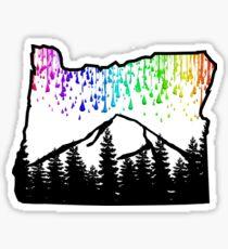 Rainy oregon  Sticker