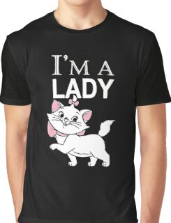I'm a Lady Aristocats Cat  Graphic T-Shirt