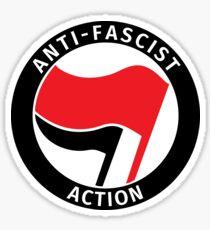 Anti-fascist action Sticker