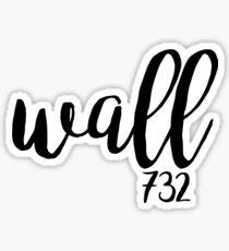 Wall NJ Sticker