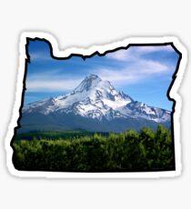 Mt Hood Oregon  Sticker