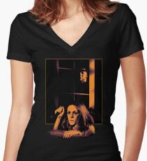 Michael and Laurie Women's Fitted V-Neck T-Shirt