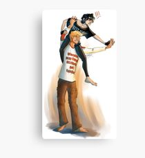 Shoulder Ride (Without Profanity)  Canvas Print
