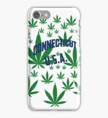 Connecticut  Marijuana Cannabis Weed Connecticut iPhone Case/Skin
