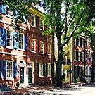 Philadelphia PA - Society Hill Street by Susan Savad