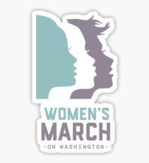 Women's March 2017 On Washington Sticker