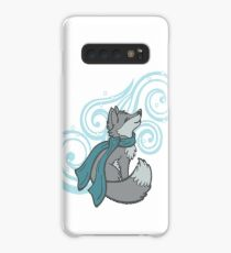 Swirling Snow Fox Case/Skin for Samsung Galaxy