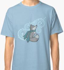 Swirling Snow Fox Classic T-Shirt