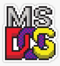 DOS Sticker