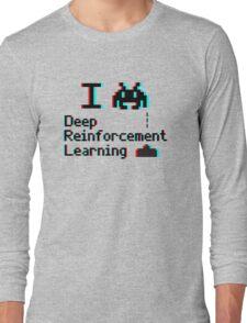 I heart deep reinforcement learning (8-bit 3D) Long Sleeve T-Shirt
