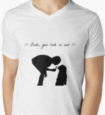 Robbers Men's V-Neck T-Shirt