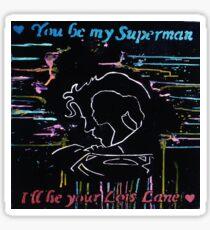 Call Me Superman Sticker