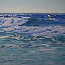 On the Crest of a Wave by Carole Elliott