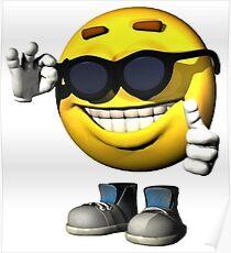 Smile Meme Guy Poster