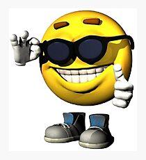 Smile Meme Guy Photographic Print
