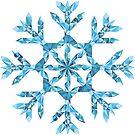 Polygonal Snowflake by Qontez George