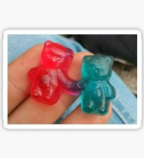 Gummy Bear Love Sticker