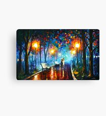 MISTY MOOD - Leonid Afremov Canvas Print