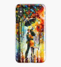 DANCE UNDER THE RAIN - Leonid Afremov iPhone Case/Skin