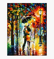 DANCE UNDER THE RAIN - Leonid Afremov Photographic Print