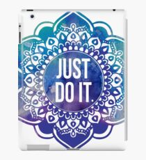 Just Do It Nike Mandala iPad Case/Skin