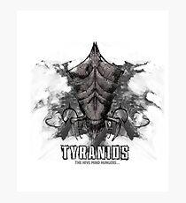 Tyranids - Variant Photographic Print