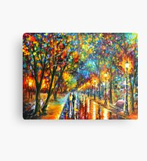 WHEN THE DREMS CAME TRUE - Leonid Afremov Metal Print
