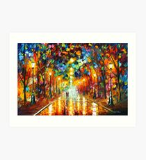 FAREWELL TO ANGER - Leonid Afremov Art Print