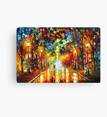 FAREWELL TO ANGER - Leonid Afremov Canvas Print
