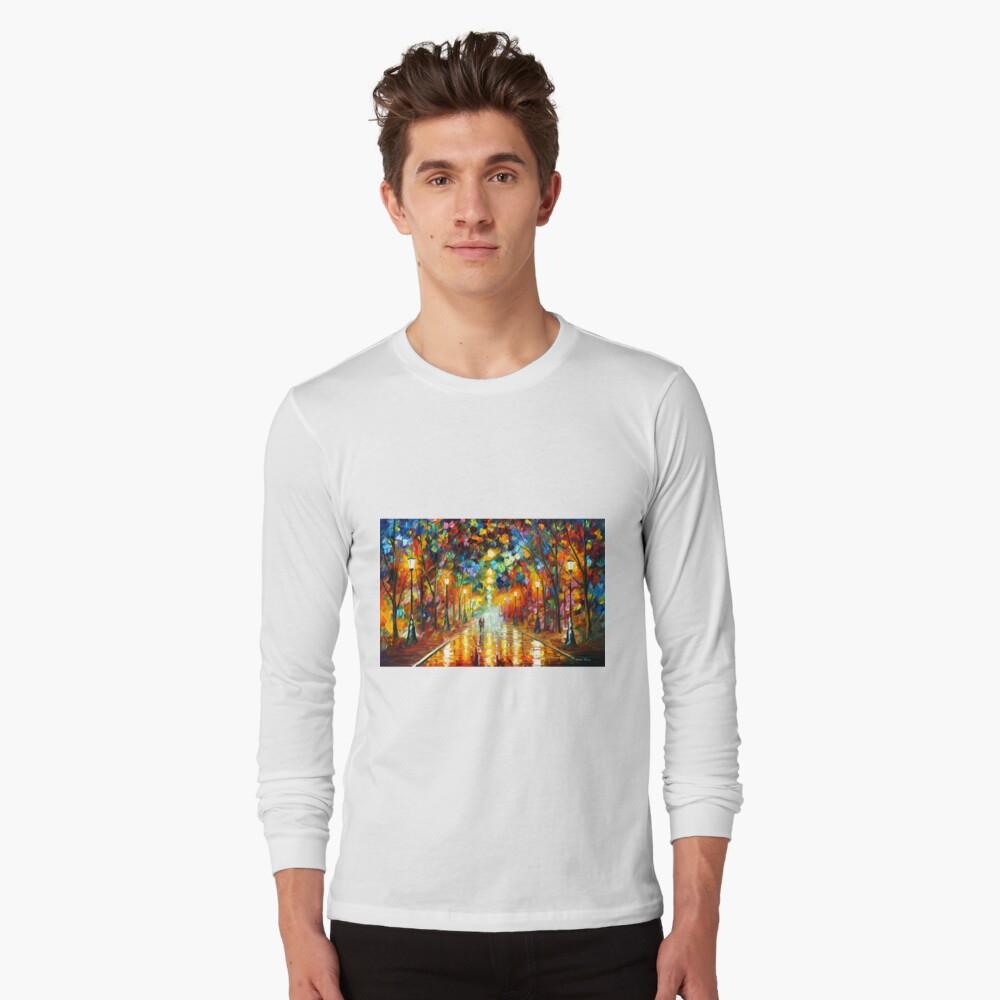 FAREWELL TO ANGER - Leonid Afremov Long Sleeve T-Shirt