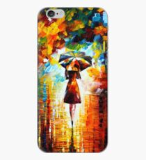 rain princess - Leonid Afremov iPhone Case