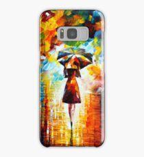 rain princess - Leonid Afremov Samsung Galaxy Case/Skin