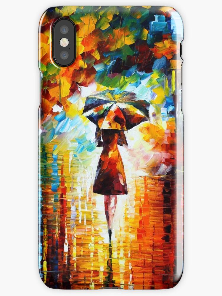 rain princess - Leonid Afremov by Leonid Afremov