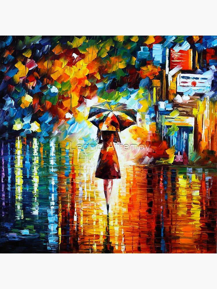 rain princess - Leonid Afremov by vitebskart