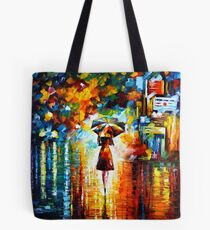 rain princess - Leonid Afremov Tote Bag