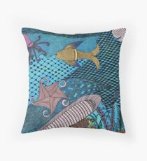 Oceanlife Throw Pillow