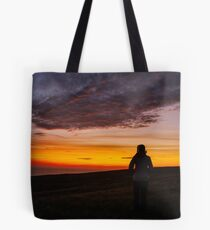 Witnessing a Donegal Sunset Tote Bag