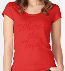 Wheres The Tofu Women's Fitted Scoop T-Shirt