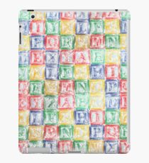Children's Blocks iPad Case/Skin