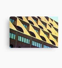 Geometric Boston Canvas Print