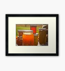 Canning in Autumn Framed Print