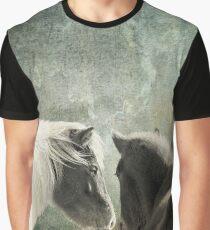 Pair of Horses Graphic T-Shirt