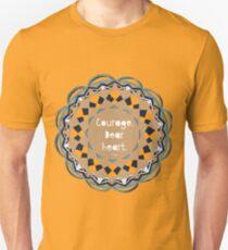 Courage Dear Heart, Paper Cut Unisex T-Shirt