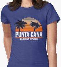 Punta Cana Beach T-shirt Dominican Republic Paradise Tshirt Women's Fitted T-Shirt